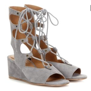 CHLOE Foster Gladiator wedge sandals